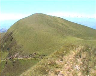 "on arrive: vue sur le ""pic"""